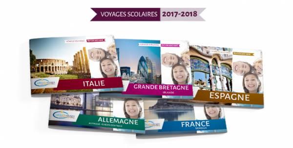 Découvrez nos nouvelles brochures éditions 2017-2018 | Voyage scolaire éducatif