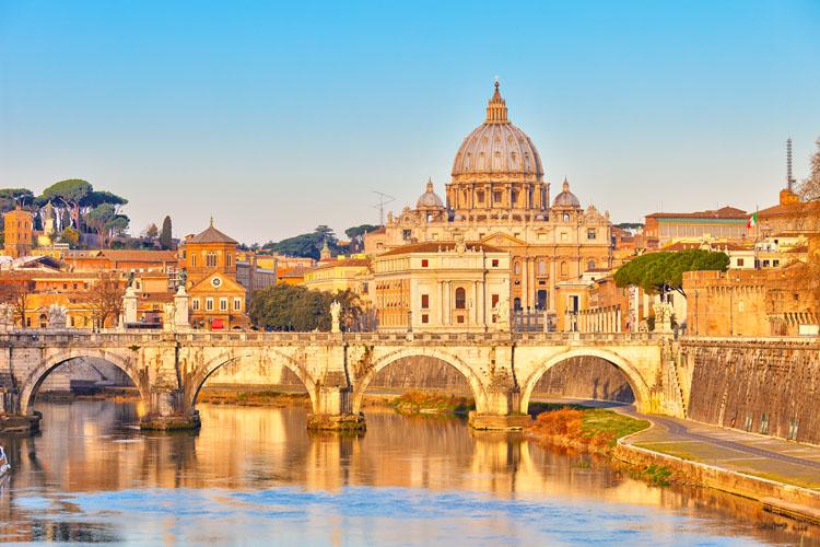 Rome clin d'oeil