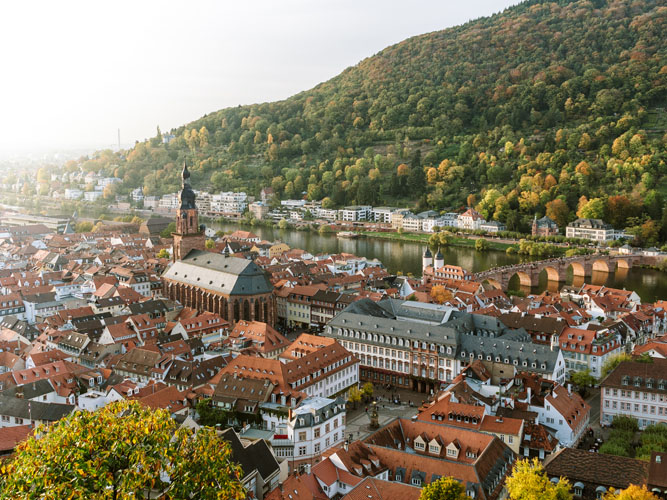 Heidelberg la romantique et la vallée du neckar | Organisation séjour éducatif