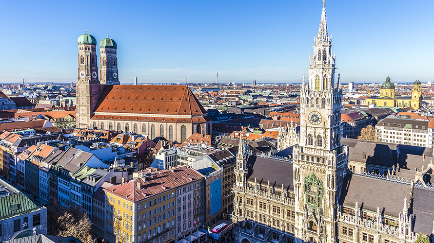Munich capitale de la bavière | Organisation séjour éducatif