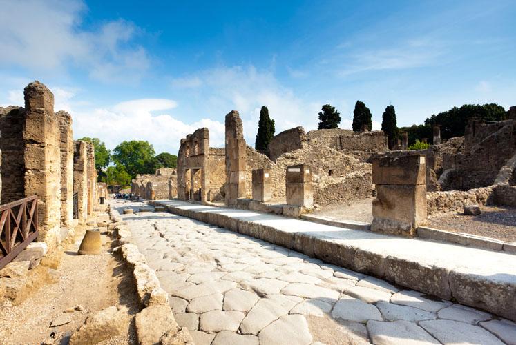 Rome, Pompei les cités romaines