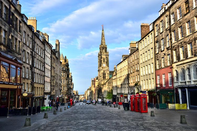 Edinburgh L'Athènes du Nord | Organisation séjour éducatif