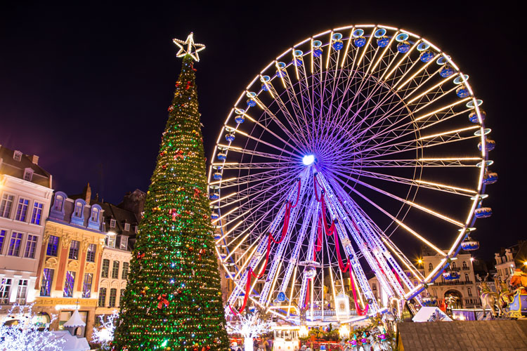 Féeries de Noël à Lille | Organisation séjour éducatif
