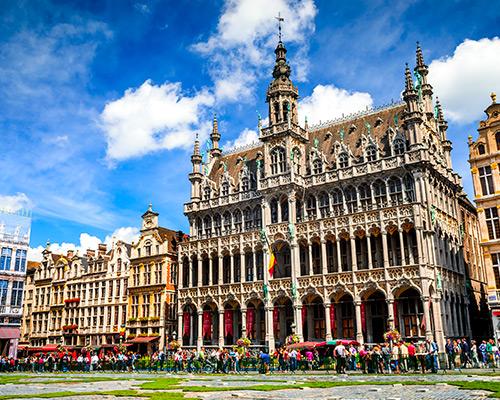 Jour 1 Départ / Bruxelles | Organisation séjour éducatif