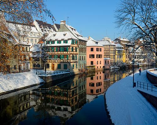 Jour 1 Départ / Strasbourg | Organisation séjour éducatif
