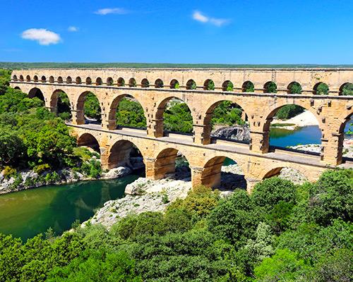 Jour 2 Beaucaire / Pont du Gard | Organisation séjour éducatif