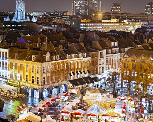 Jour 1 Départ / Lille | Organisation séjour éducatif
