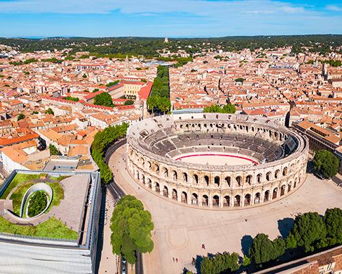 Jour 1 Départ / Nîmes | Organisation séjour éducatif
