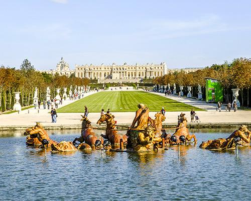 Jour 1 Départ / Versailles | Organisation séjour éducatif