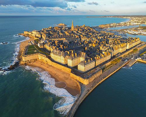 Jour 1 Départ / Saint-Malo   Organisation séjour éducatif